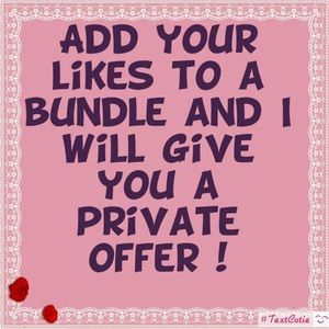 Private Bundle Offer